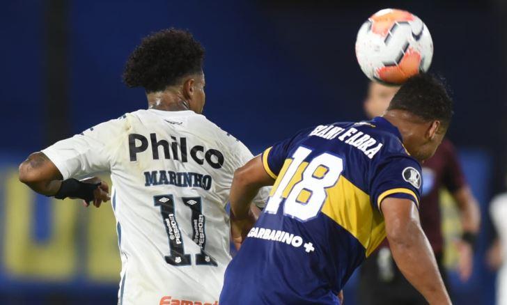 Copa Libertadores: Boca igualó sin goles con Santos y buscará la clasificación a la final en Brasil