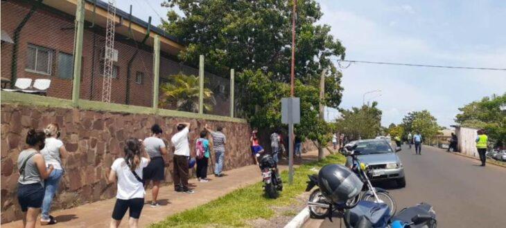 """Coronavirus en Misiones: desde el Hospital de Fátima indican que duplicaron la demanda de hisopados en estos días y recordaron que el examen es para personas con """"síntomas o con contacto estrecho"""""""