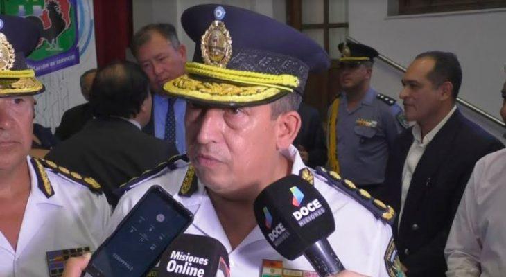 Zenón Cabrera dejó de ser el jefe de la Policía de Misiones