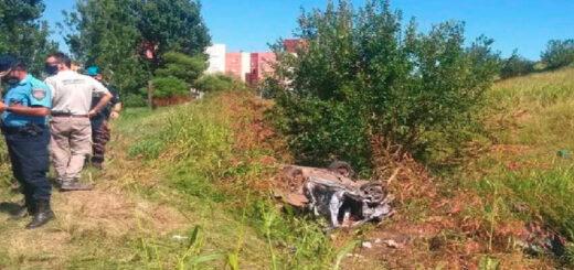 Accidente en Córdoba: murieron tres jóvenes al desbarrancar un auto