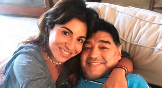 """Gianinna Maradona le dedicó un mensaje a Diego: """"Bajá un ratito, prometo que dejo que te vuelvas"""""""