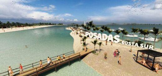 Imagen del proyecto: así quedaría la futura Playa Costa Sur de Posadas