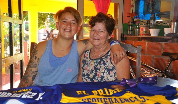 """""""Nunca me voy a olvidar de donde salí"""", dijo Yamila Rodriguez, quien forjó su magia en el barrio A 3-2 de Posadas y se consagró campeón con Boca Juniors"""