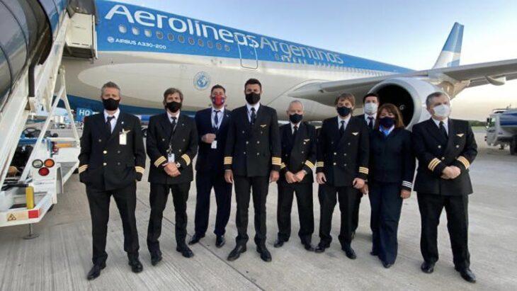 El sábado llegará de Moscú el vuelo de Aerolíneas Argentinas que traerá la segunda tanda de vacunas Sputnik V