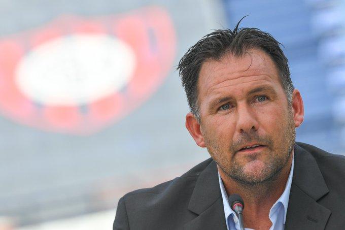 Diego Dabove fue presentado hoy oficialmente como nuevo director técnico de San Lorenzo