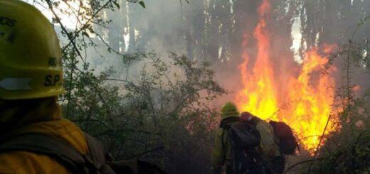 Río Negro: el incendio forestal sigue fuera de control y ya afectó 6.500 hectáreas entre El Bolsón y El Maitén