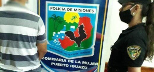 Hombre de 27 años detenido en Iguazú por golpear a su pareja menor de edad