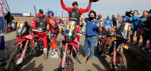 Rally Dakar: histórico triunfo del argentino Kevin Benavides en la categoría motos