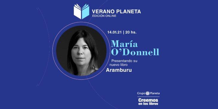 María O´Donnell habló de su libro Aramburu en el Ciclo Planeta Verano por Misiones Online: «Perón y Montoneros no tenían los mismos objetivos»