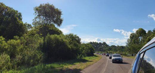 Con una caravana de autos, los vecinos de San Javier despidieron al enfermero que falleció por Covid