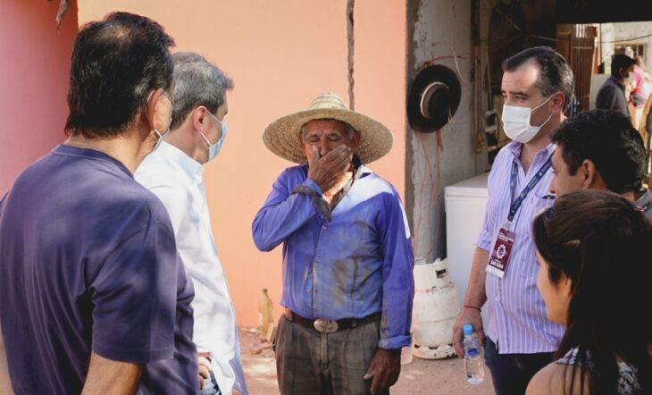 Tras el terremoto en San Juan, el gobernador Uñac agradeció a Oscar Herrera Ahuad la donación de 25 viviendas de madera hechas en Misiones
