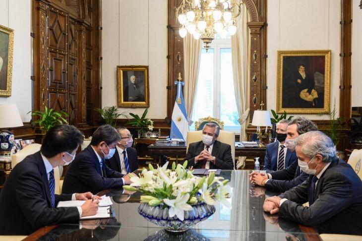 Alberto Fernández se reunió con el ministro de Relaciones Exteriores de Japón y acordaron estrechar vínculos entre ambas naciones