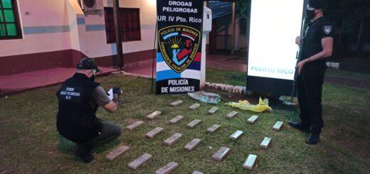 Incautaron 16 kilos de marihuana en Puerto Rico