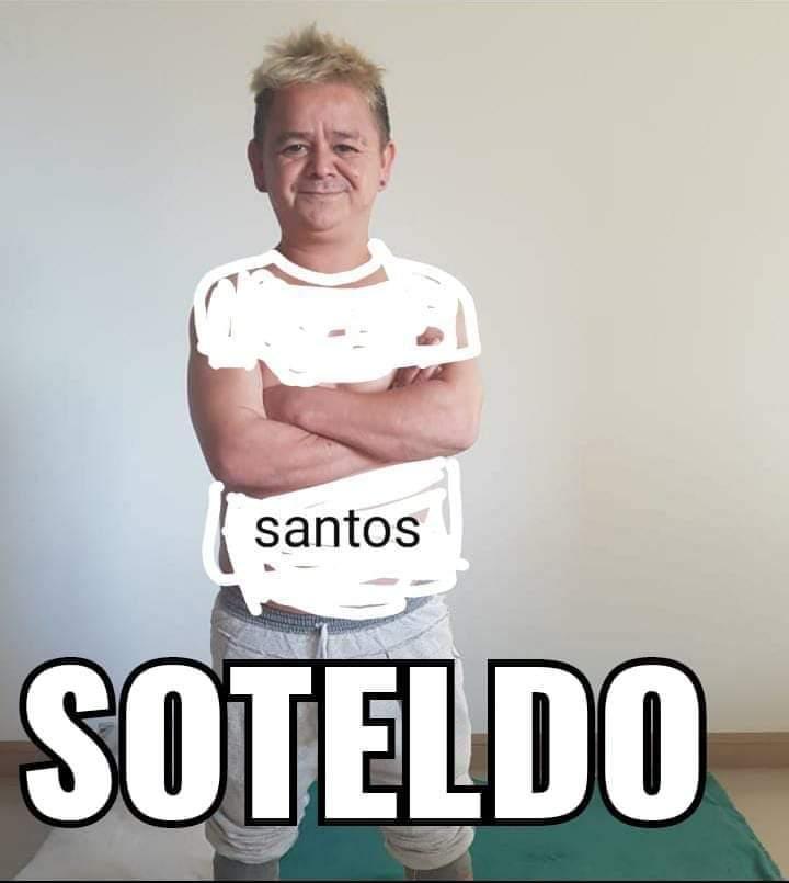 """Furor en las redes por el parecido del """"mismísimo diablo"""" con Soteldo, autor de uno de los goles de Santos"""