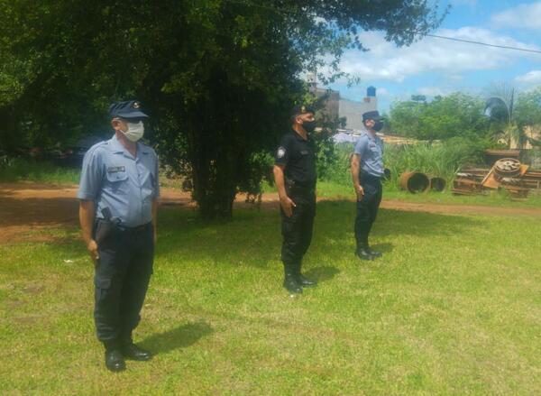 Nuevos titulares fueron puestos al frente de las diferentes comisarías de Puerto Iguazú