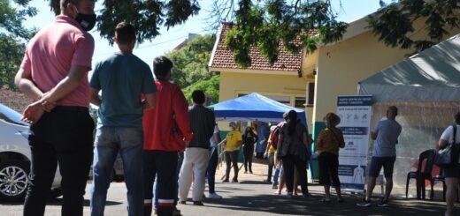 Continúa la alta demanda para realizarse el hisopado gratuito en el Hospital  de Posadas