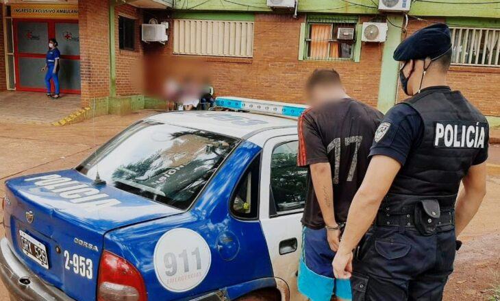 Eldorado: detuvieron a un ladrón que robó un auto e impactó con otro vehículo