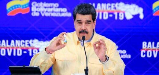 """Coronavirus en Venezuela: Maduro presentó gotas que supuestamente """"neutraliza al 100%"""" el virus"""