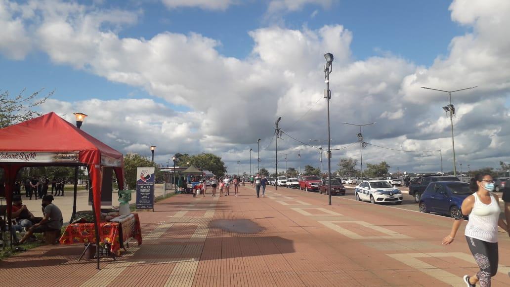 """Posadas: pese a la pandemia la Feria de la Costanera registró """"buenas ventas"""" en el primer mes del año"""
