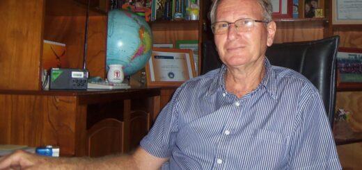 Bruno Beck, intendente de Andresito, se encuentra aislado desde el lunes luego de que le diera positivo el test del coronavirus