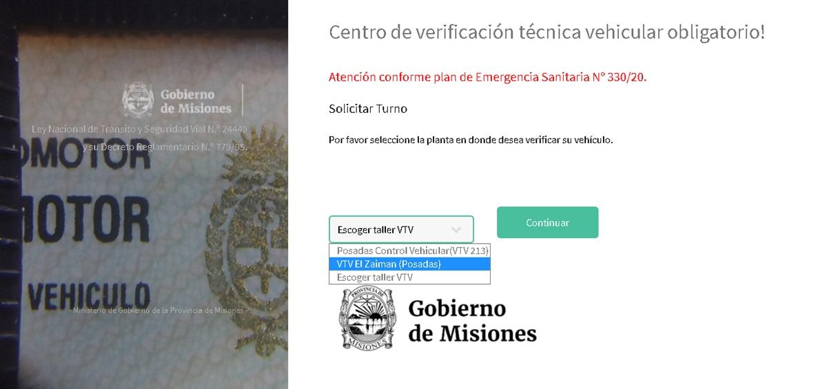 Habilitaron la página para solicitar turno de VTV: paso a paso, cómo completar el formulario