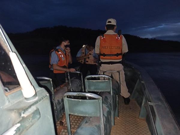 Wanda: buscan a tres hermanos que desaparecieron en el río Paraná