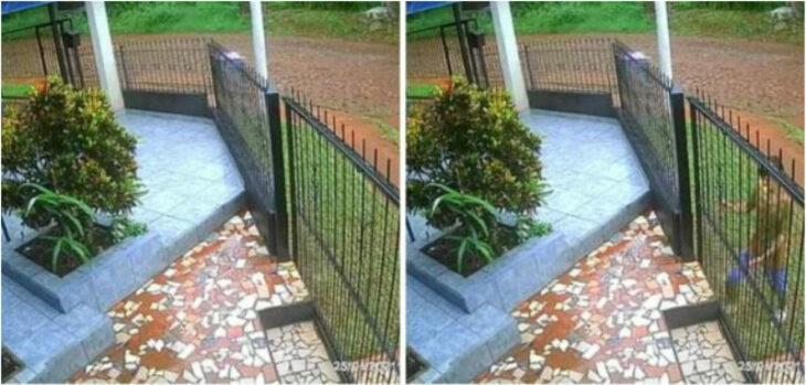 Insólito intento de robo en Eldorado: arrancó el portón corredizo de una casa