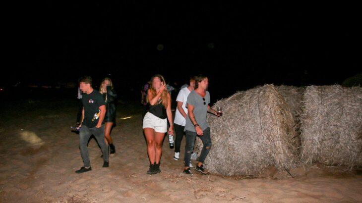 Desactivaron una fiesta clandestina con 2 mil personas en un balneario de la costa argentina