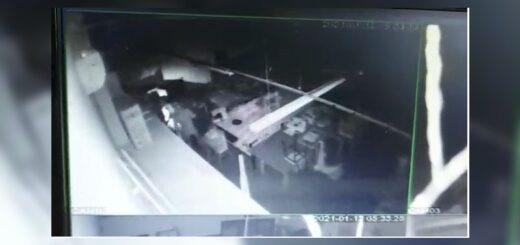 A metros de una comisaría, delincuentes desmantelaron durantetres noches el equipamiento del CFP 13 de Villa Lanús: todo quedó registrado en video