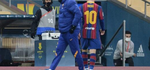Se conoció la sanción a Messi por golpear a un rival en la Supercopa de España