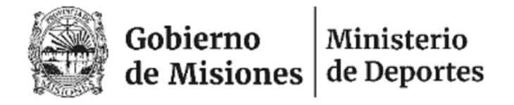 Ministerio de Deportes: Comunicado