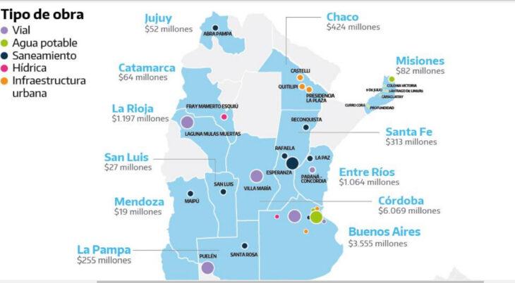Primeras 30 obras públicas de 2021: a Misiones le tocarán 82 de los 13.552 millones de pesos de inversión previstos