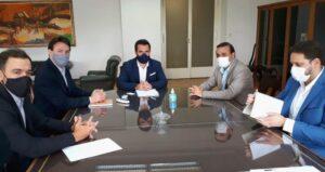 Herrera Ahuad y Quintana plantearon al Secretario de Energía de la Nación, las necesidades más urgentes para mejorar la transmisión y la experiencia misionera de energía renovable
