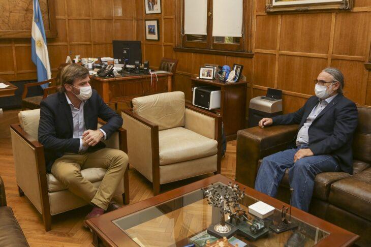 Oriozabala y Basterra avanzaron en una agenda común para la implementación de proyectos agroindustriales en Misiones