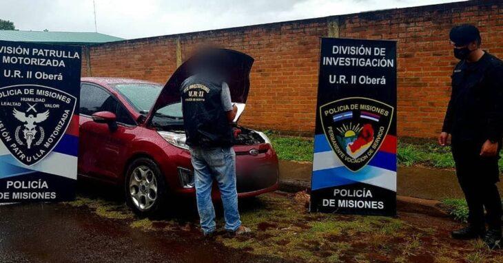 Recuperaron en Oberá un vehículo robado en Buenos Aires