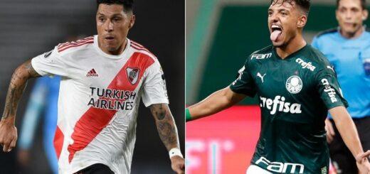 River abre su serie de semifinales de la Copa Libertadores ante Palmeiras: hora, TV y formaciones