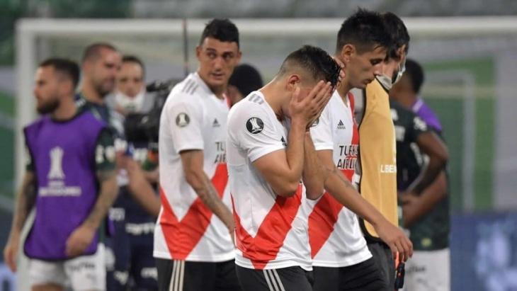 Tras la eliminación y la polémica con el VAR, llovieron los memes de River ante Palmeiras