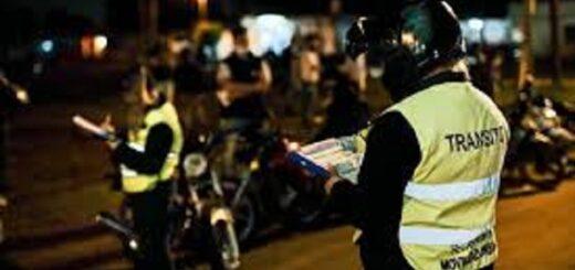 Agentes municipales y la Policía provincial detectaron en Posadas 11 casos de alcoholemia positiva en la noche de Año Nuevo