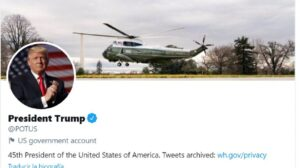 Donald Trump volvió a Twitter con POTUS, la cuenta de la Presidencia: le eliminaron los posteos