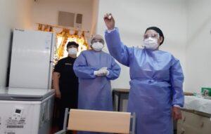 """""""No hay que tener miedo, todas las vacunas son seguras"""", recomendó el jefe de enfermería del hospital de Fátima"""