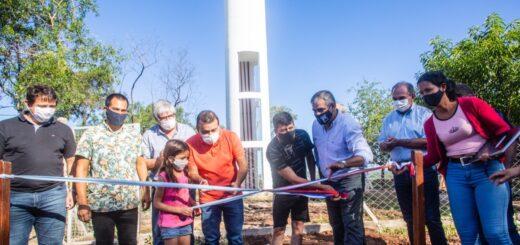 El Gobernador de Misiones inauguró una red de agua para 100 familias en Garupá