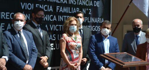 Herrera Ahuad participó en la inauguración de un nuevo juzgado de violencia familiar en Misiones