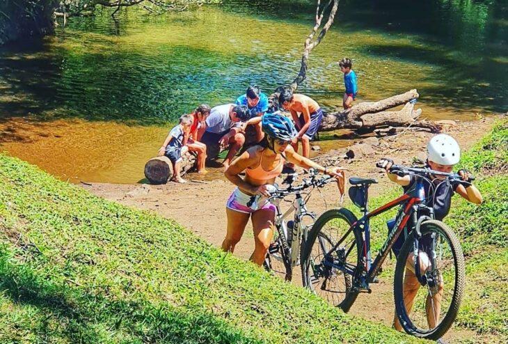 Bicicleteando Candelaria: una propuesta saludable en los montes de la Provincia