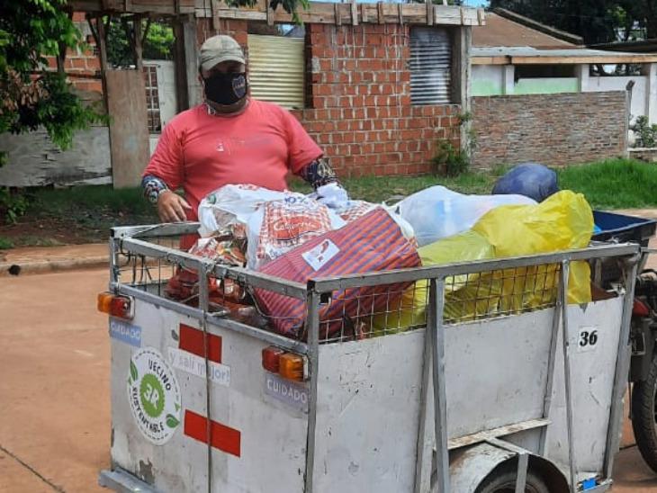Vecino Sustentable: cada día toma más fuerza el reciclaje de residuos  en Posadas