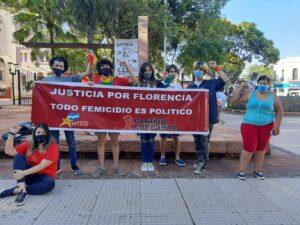 Femicidio de Ursula Bahillo | En Posadas se realizó una manifestación en la plaza 9 de Julio para pedir justicia