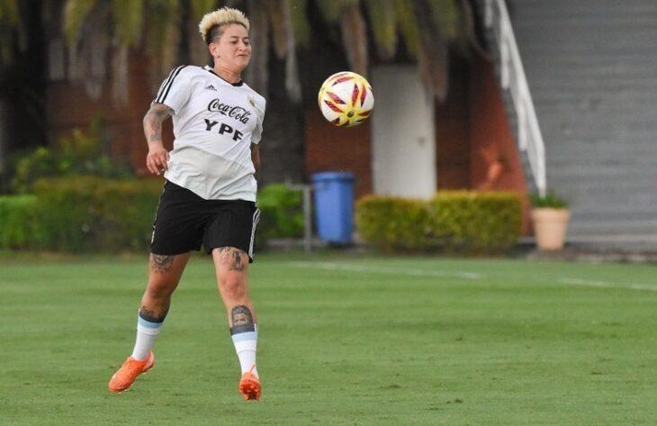 Yamila Rodríguez quedó en la nómina final de la Selección Argentina para la She Believes Cup
