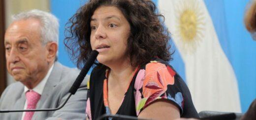 """Repudio total a una columna que tildó con el término """"desvirgada"""" la designación de Carla Vizzoti al frente del Ministerio de Salud"""