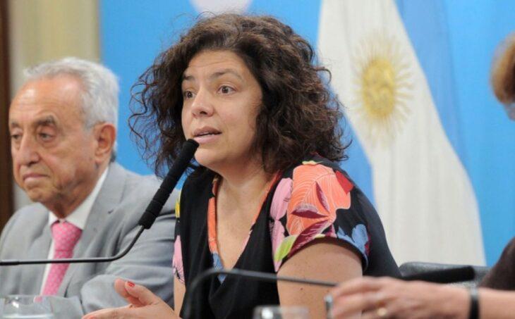 Repudio total a una columna que tildó con el término «desvirgada» la designación de Carla Vizzoti al frente del Ministerio de Salud