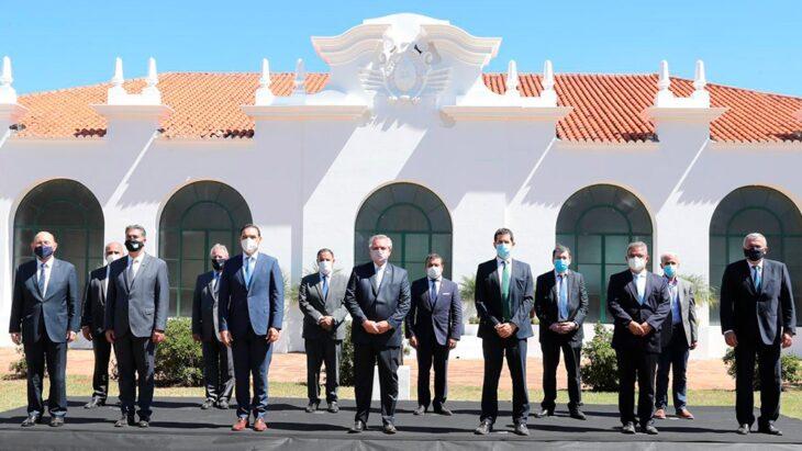 Tarifas, inversiones, plan de desarrollo y artículo 10: Herrera Ahuad detalló los ejes de la reunión de los gobernadores del Norte Grande con Alberto Fernández