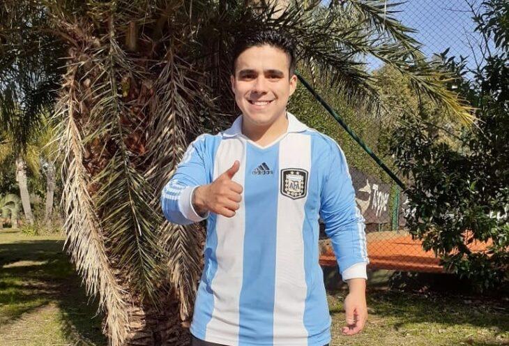 El misionero Antunez entrena con la Selección Argentina de Talla Baja